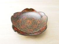 唐塗 菓子皿 桜