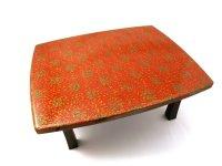 折りたたみ式書籍座卓 赤上