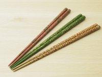 唐塗 大箸(白、緑、ピンク)