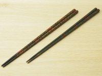 唐塗 細箸(呂上、緑上)