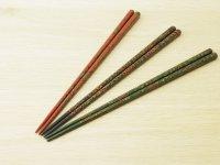 唐塗 細箸(赤上、呂上、緑上)