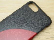 他の写真3: 紋紗塗と唐塗 iPhone 7、iPhone 8 用ケース 赤
