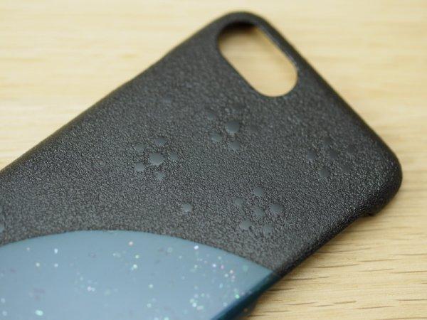 画像3: 紋紗塗と唐塗  iPhone 7、iPhone 8 用ケース 青微塵貝入り