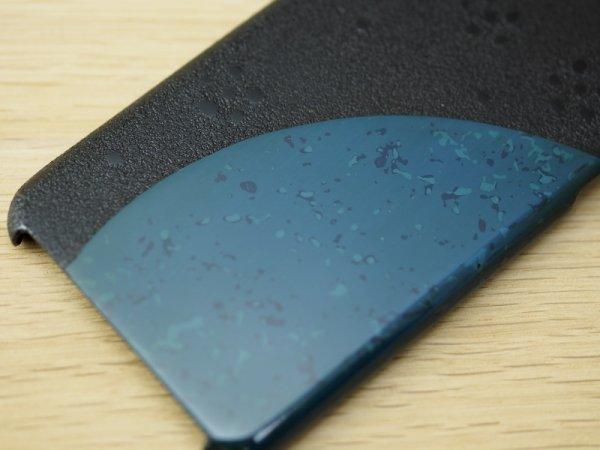 画像4: 紋紗塗と唐塗  iPhone 7、iPhone 8 用ケース 青