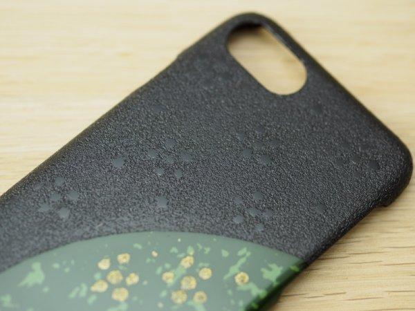 画像4: 紋紗塗と唐塗 iPhone 7、iPhone 8 用ケース 緑