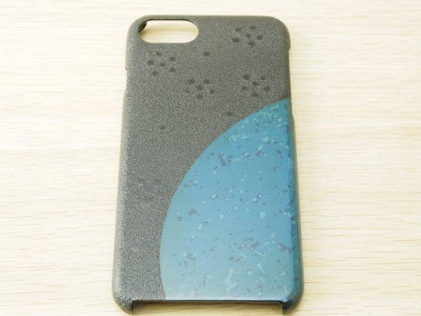 画像2: 紋紗塗と唐塗  iPhone 7、iPhone 8 用ケース 青
