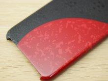 他の写真2: 紋紗塗と唐塗 iPhone 7、iPhone 8 用ケース 赤