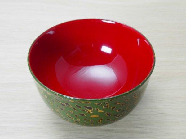 画像3: 唐塗 羽反型 緑上(白梨地)