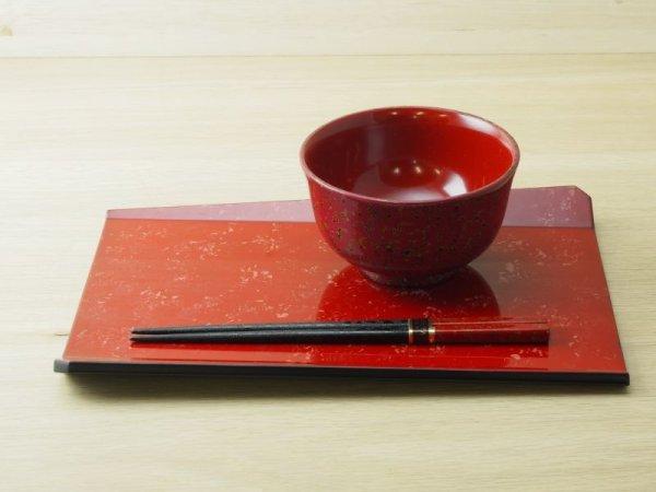 画像2: 唐塗 多様皿 赤上