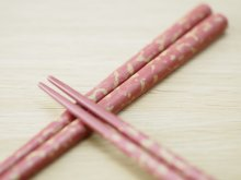 他の写真3: 唐塗 中箸 (赤、青、桃色)