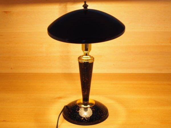 画像2: 唐塗 黒上 卓上ライト