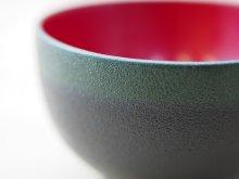 他の写真2: 紋紗塗 二色椀 緑