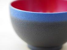 他の写真2: 紋紗塗 二色椀 青